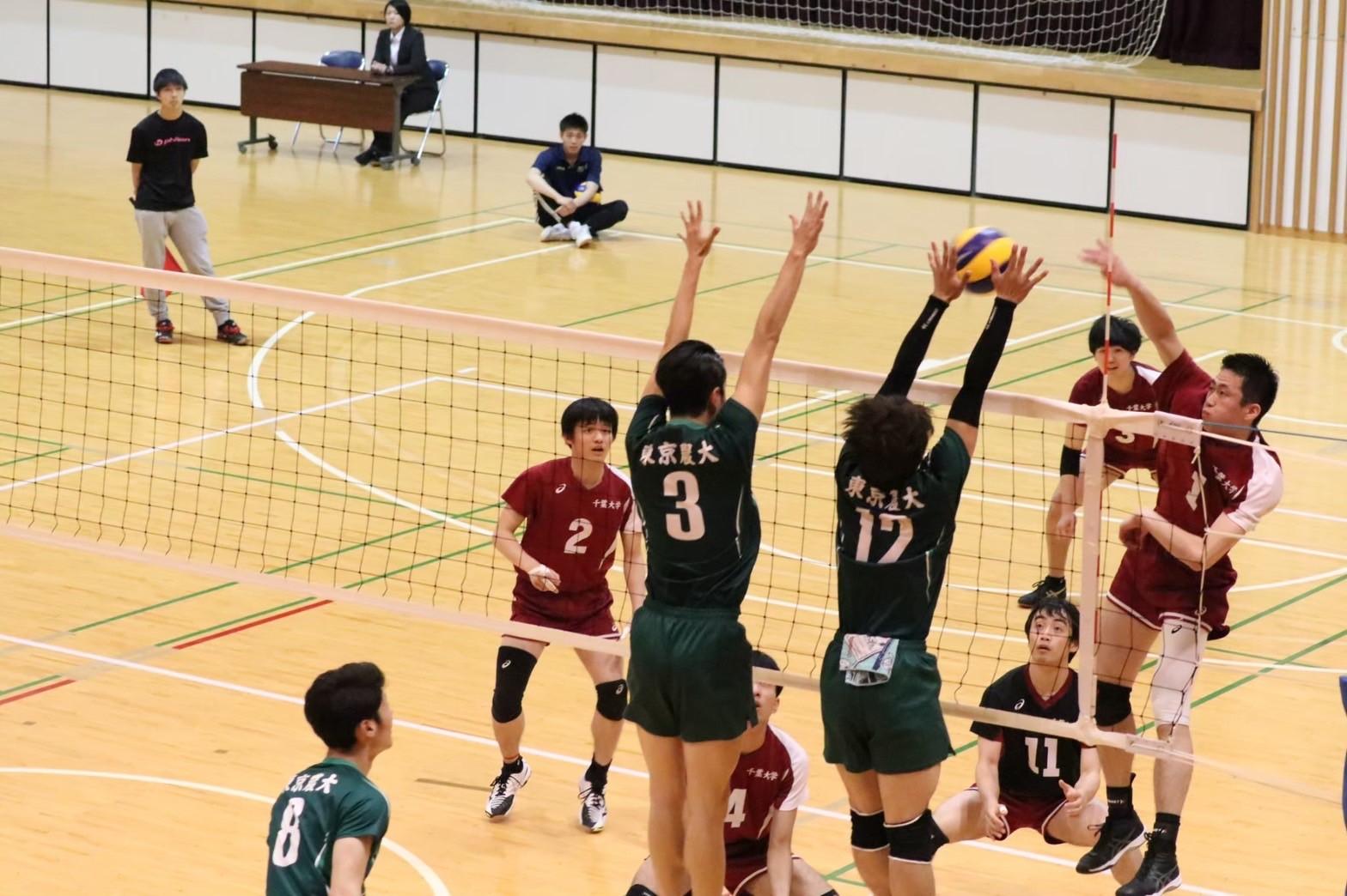 バレーボール部 | 東京農業大学