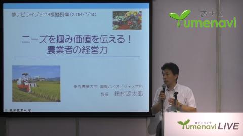 国際バイオビジネス学科 鈴村 源太郎 教授