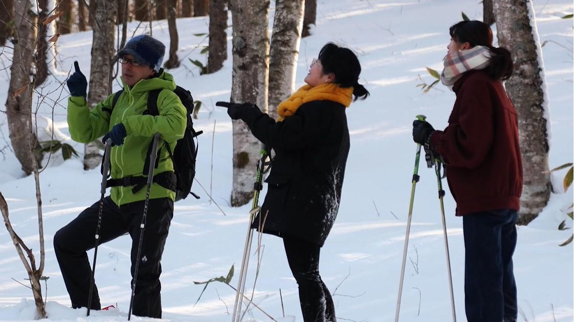 冬の北海道オホーツクキャンパス 自然資源経営学科