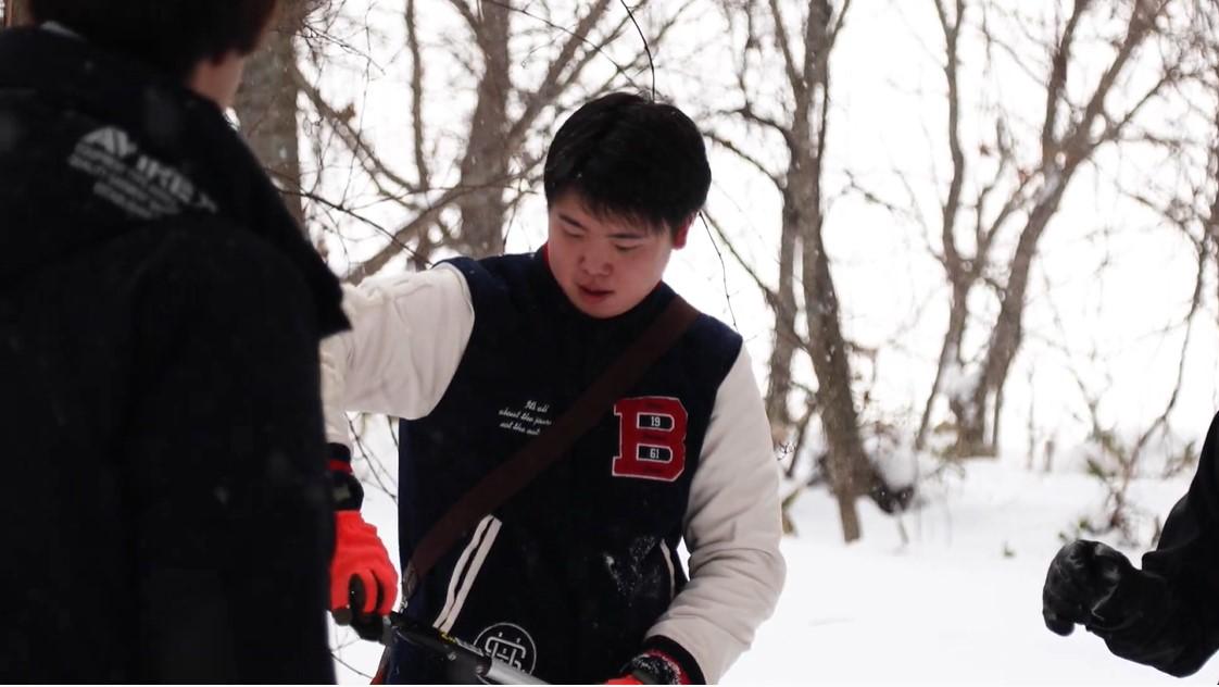 冬の北海道オホーツクキャンパス 北方圏農学科
