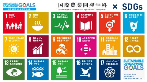 開発学科 x SDGs