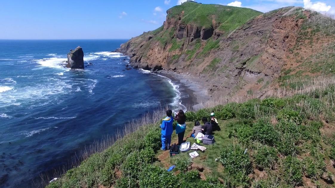 冬の北海道オホーツクキャンパス 海洋水産学科